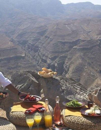 Privát utazás Omán piknik