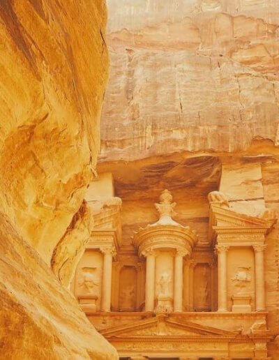 Privát Jordánia utazás Petra kanyon