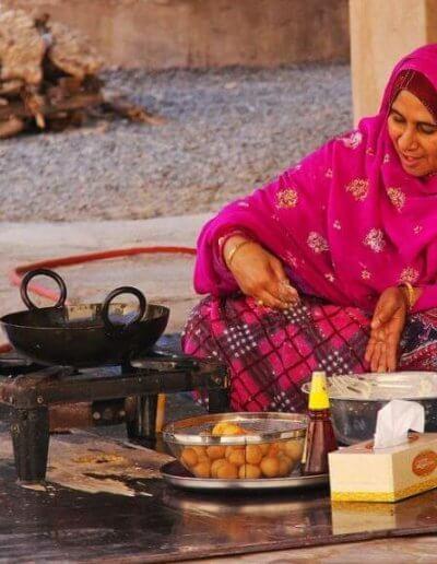 Privát utazás Omán étel