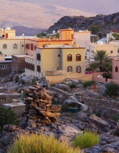 Privát utazás Omán naplemente