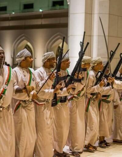Privát utazás Omán őrök