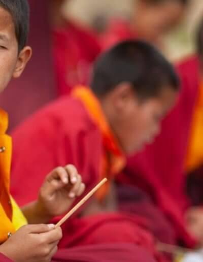 Privát utazás Bhután gyerekek