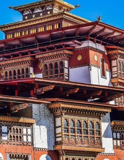 Privát utazás Bhután palota