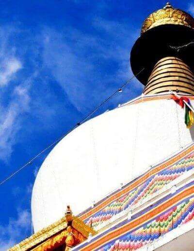 Privát utazás Bhután sztupa