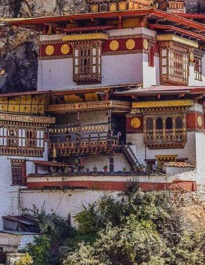Privát utazás Bhután templom