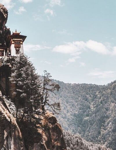 Privát utazás Bhután kolostor