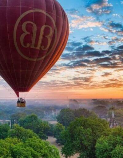 Privát utazás Burma ballon