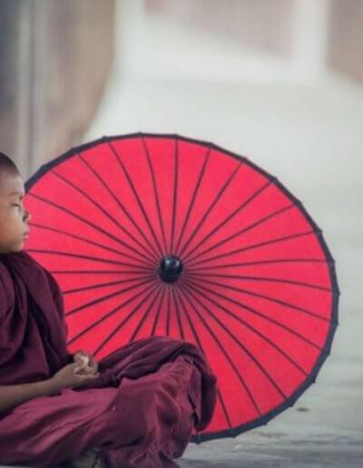 Privát utazás Burma gyerek