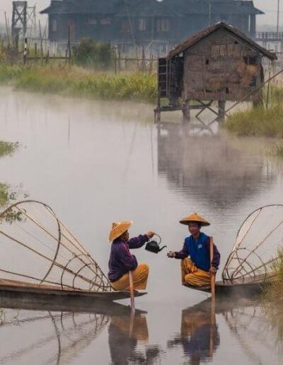 Privát utazás Burma halászok