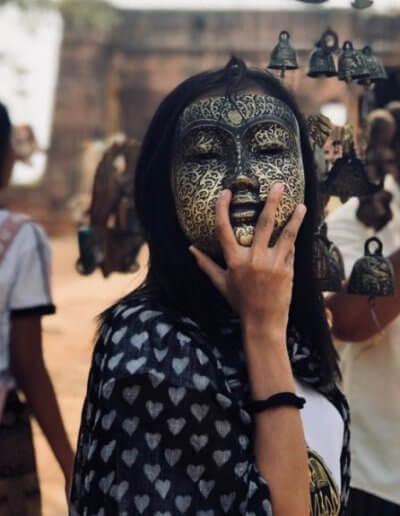 Privát utazás Burma maszk
