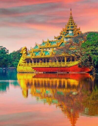 Privát utazás Burma palota