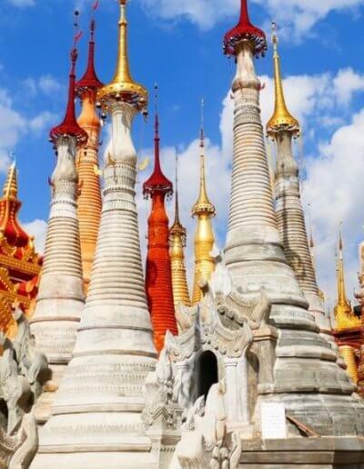 Privát utazás Burma sztupák