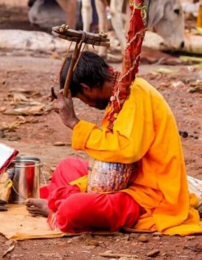 Privát utazás India árus