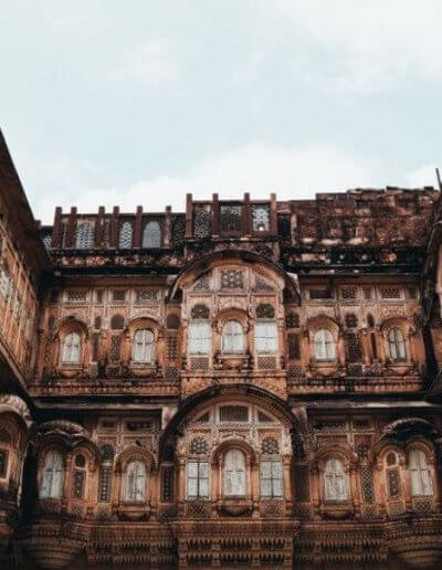 Privát utazás India belső udvar