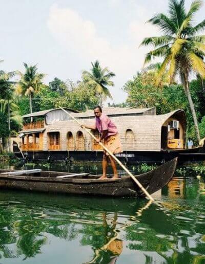 Privát utazás India belső vizek