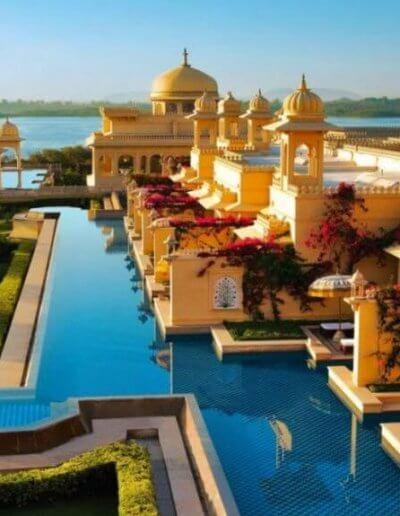 Privát utazás India luxushotel