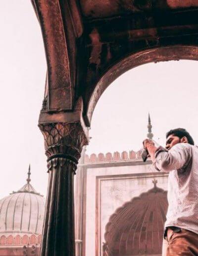 Privát utazás India paparazzi