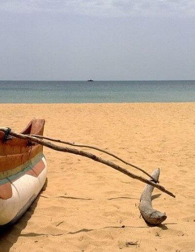 Privát utazás Sri-Lanka csónak
