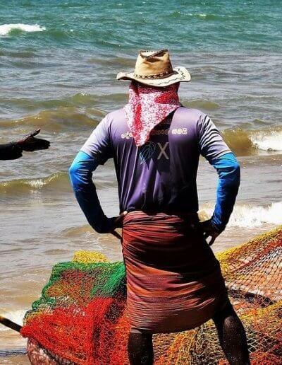 Privát utazás Sri-Lanka halászok