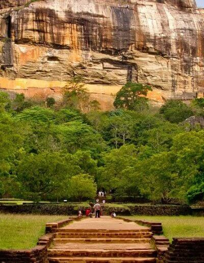 Privát utazás Sri-Lanka Sigiriya szikla