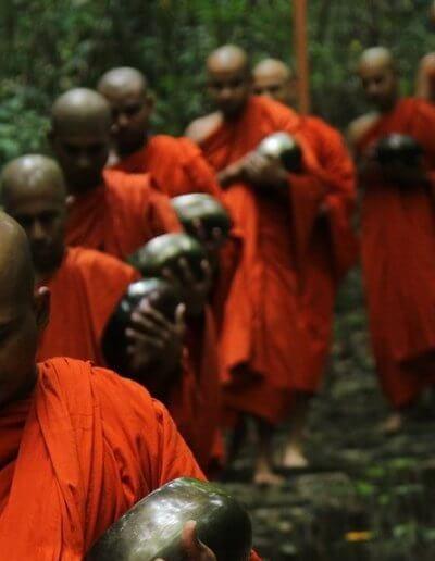 Privát utazás Sri-Lanka szerzetesek
