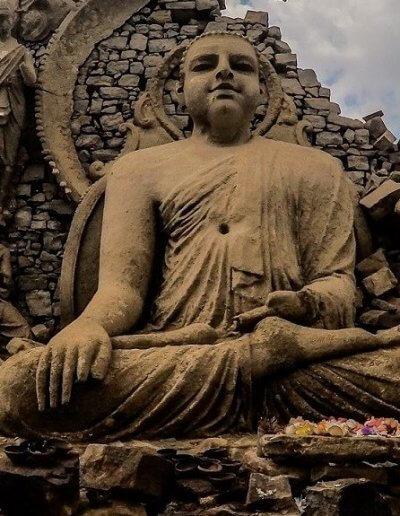 Privát utazás Sri-Lanka szobrok
