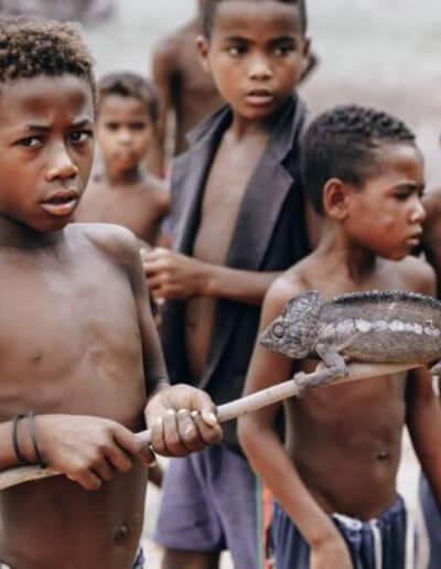 Privát utazás Madagaszkár gyerekek
