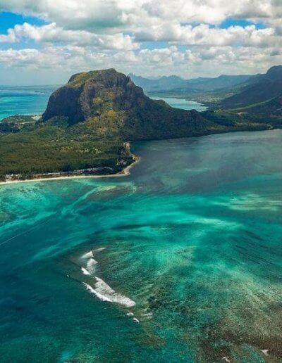 Privát utazás Mauritius látkép