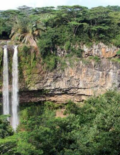 Privát utazás Mauritius vízesés
